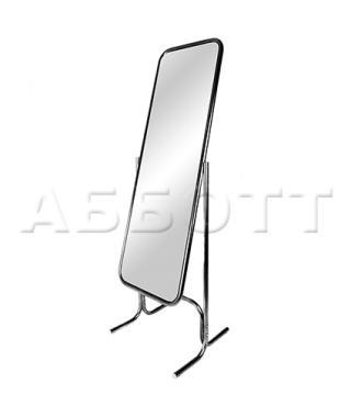 5M-05K зеркало примерочное напольное с изменением угла наклона