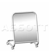 5М-04К  Зеркало примерочное напольное для обуви на колесах