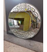 Зеркало с пескоструйным рисунком (вариант 1)